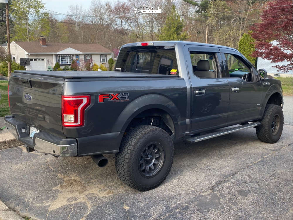 6 2016 F 150 Ford Rough Country Suspension Lift 6in Dirty Life Roadkill Gunmetal