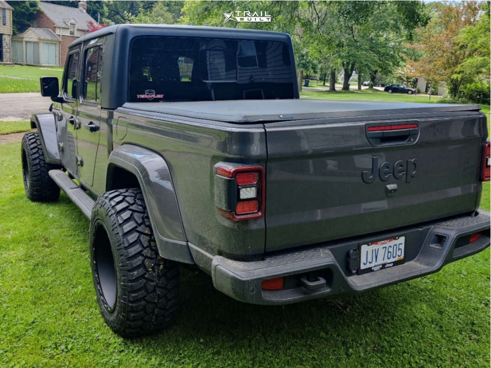14 2021 Gladiator Jeep Willys Teraflex Leveling Kit Vision Tactical Black