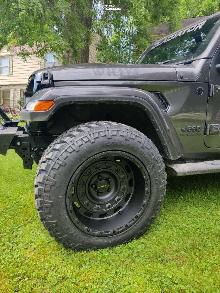 5 2021 Gladiator Jeep Willys Teraflex Leveling Kit Vision Tactical Black