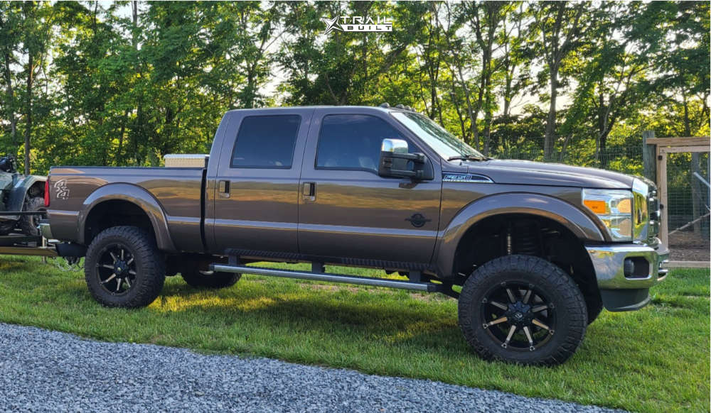 1 2016 F 350 Super Duty Ford Unknown Suspension Lift 45in Fuel Coupler Black