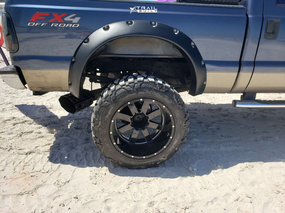 11 2006 F 250 Ford Mixed Suspension Lift 10in Moto Metal Mo962 Black