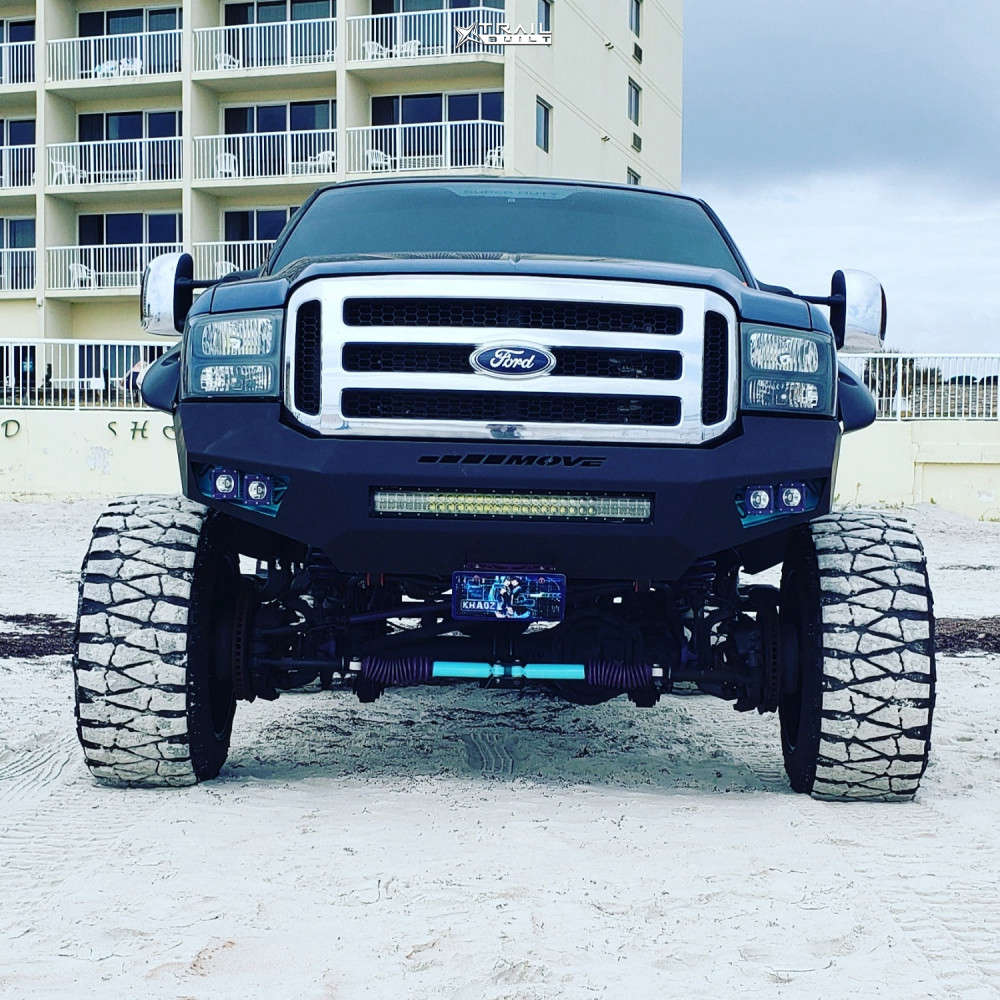 2 2006 F 250 Ford Mixed Suspension Lift 10in Moto Metal Mo962 Black
