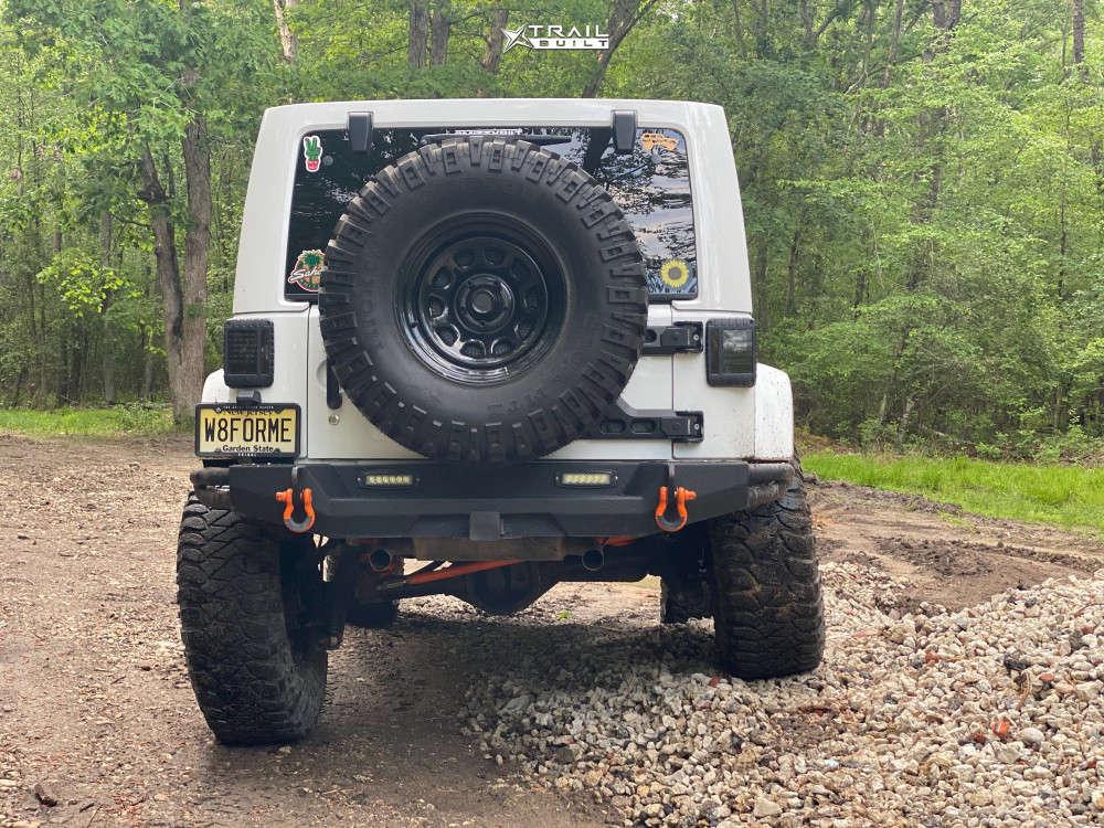 3 2014 Wrangler Jeep Unlimited Sahara Suspension Lift 4in Trail Master Tm5 Black