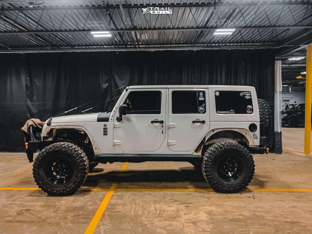 6 2014 Wrangler Jeep Unlimited Sahara Suspension Lift 4in Trail Master Tm5 Black