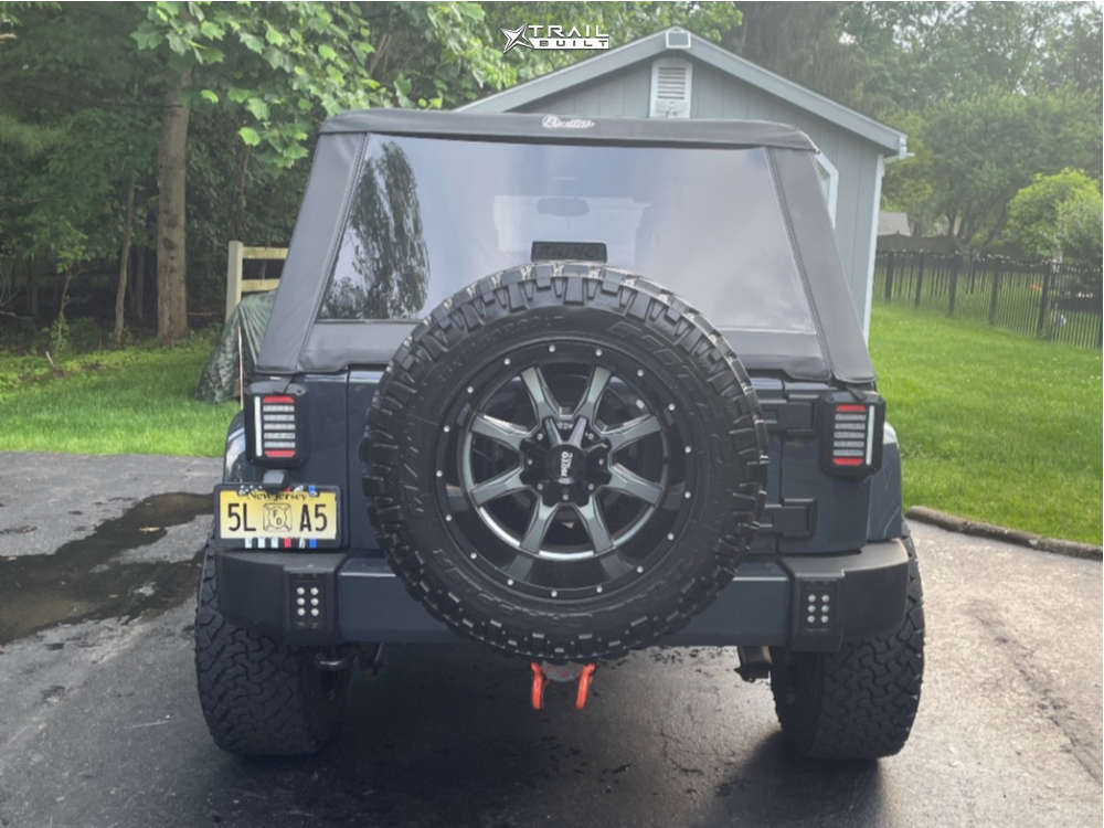 12 2016 Wrangler Jk Jeep Base 3 Inch Level Suspension Lift 3in Moto Metal Mo970 Black