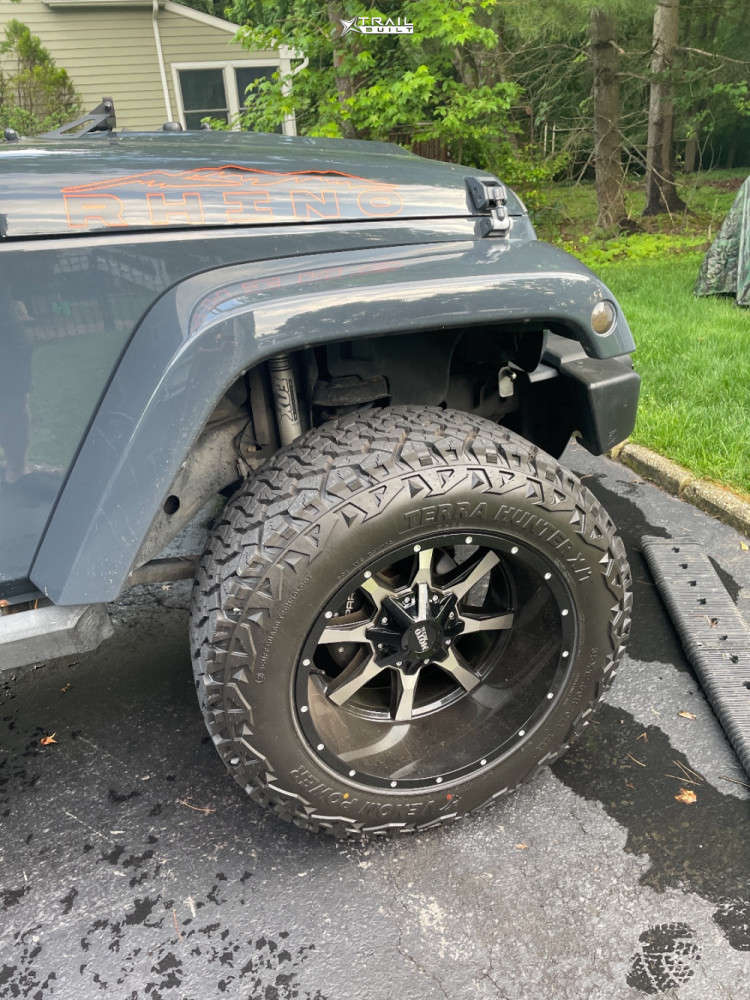 9 2016 Wrangler Jk Jeep Base 3 Inch Level Suspension Lift 3in Moto Metal Mo970 Black
