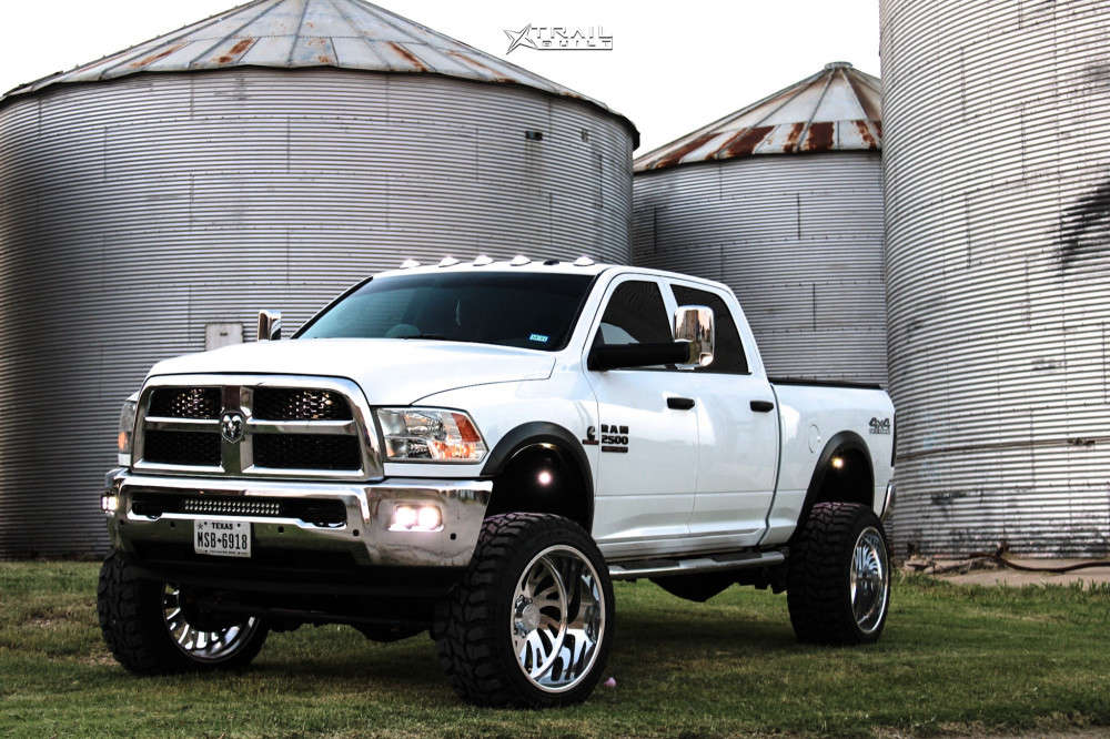 9 2018 2500 Ram Zone Suspension Lift 65in Stealth Forged Alpha Polished