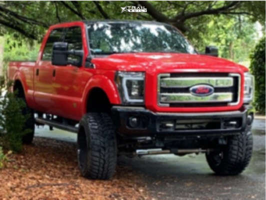 1 2012 F 250 Super Duty Ford Rough Country Suspension Lift 8in Tis Forged 544c Super Finish