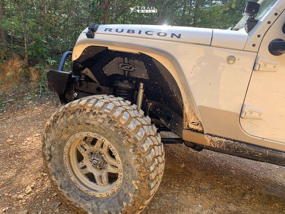 6 2010 Wrangler Jeep Unlimited Rubicon Rock Krawler Suspension Lift 4in Fuel Anza Anthracite