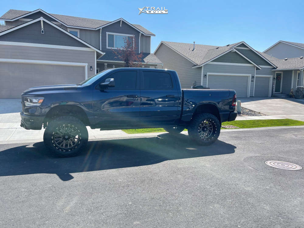 8 2020 1500 Ram Rough Country Suspension Lift 6in Tis 547bm Machined Accents