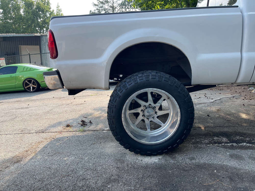 11 2009 F 250 Ford Pmf Suspension Lift 8in American Force Jade Ss Polished