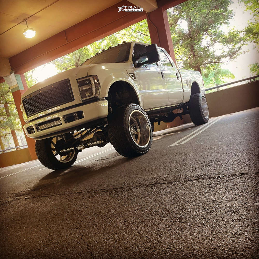 13 2009 F 250 Ford Pmf Suspension Lift 8in American Force Jade Ss Polished