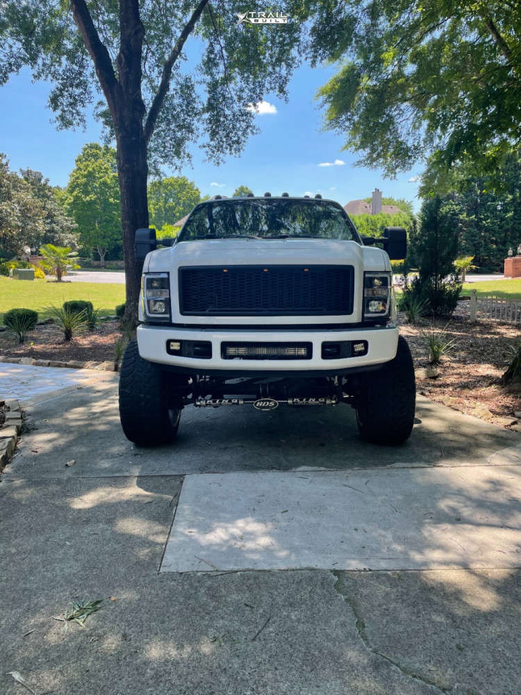 2 2009 F 250 Ford Pmf Suspension Lift 8in American Force Jade Ss Polished