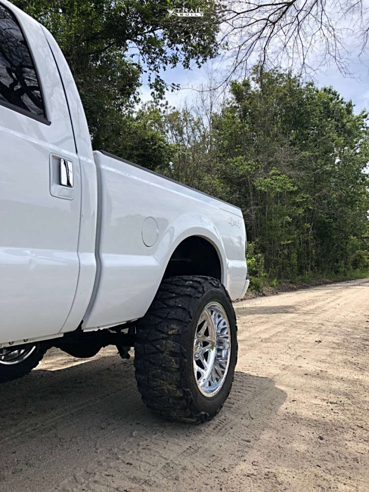 10 2007 F 250 Super Duty Ford Rough Country Suspension Lift 6in American Force Sprint Cc Polished