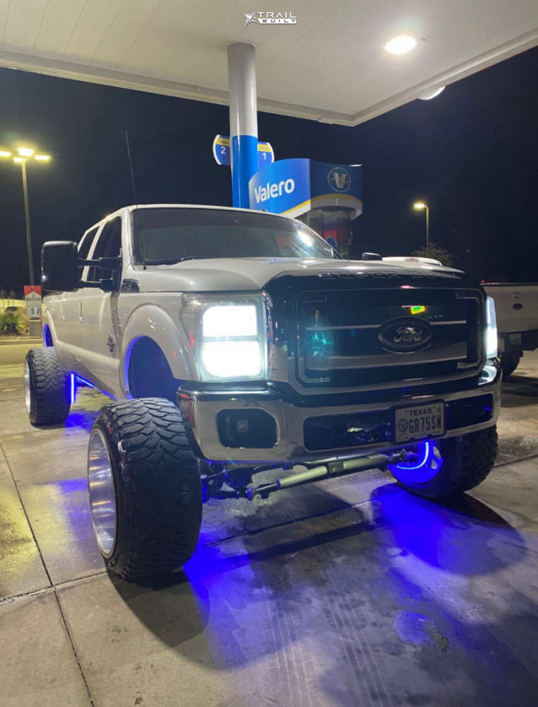 1 2011 F 250 Super Duty Ford Pmf Suspension Lift 6in Fuel Forged Ff29 Custom