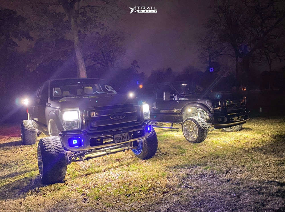 3 2011 F 250 Super Duty Ford Pmf Suspension Lift 6in Fuel Forged Ff29 Custom