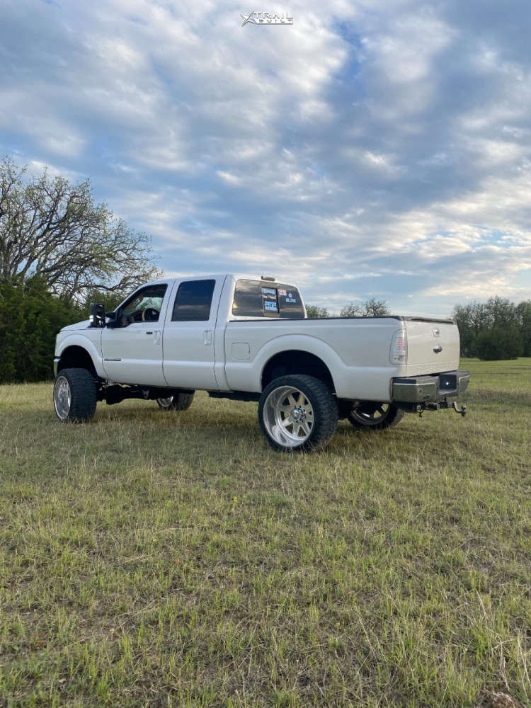 9 2011 F 250 Super Duty Ford Pmf Suspension Lift 6in Fuel Forged Ff29 Custom