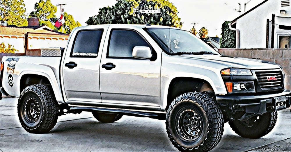 1 2010 Canyon Gmc Wulf S Suspension Lift 3in Pro Comp Series 252 Black
