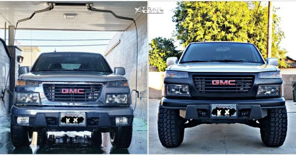2 2010 Canyon Gmc Wulf S Suspension Lift 3in Pro Comp Series 252 Black
