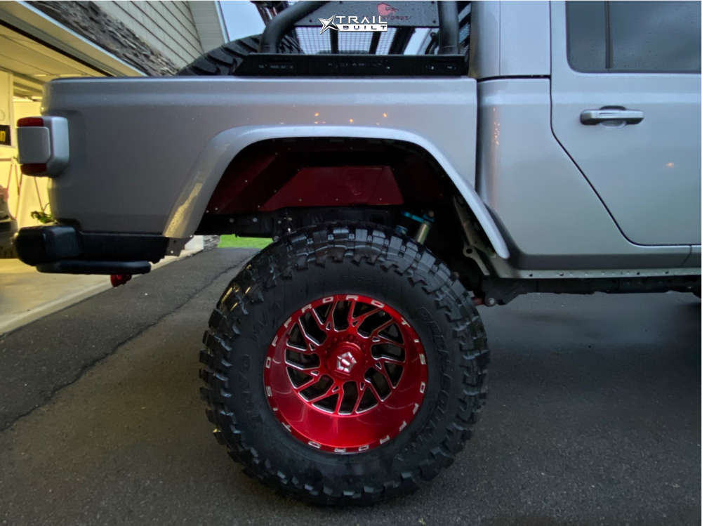 11 2020 Gladiator Jeep Launch Edition King Spring Super Low Suspension Lift 65in Tis 544rm Red