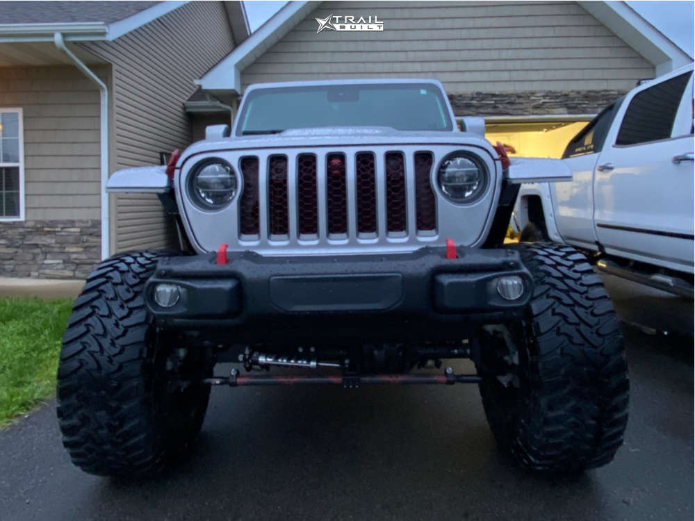 2 2020 Gladiator Jeep Launch Edition King Spring Super Low Suspension Lift 65in Tis 544rm Red