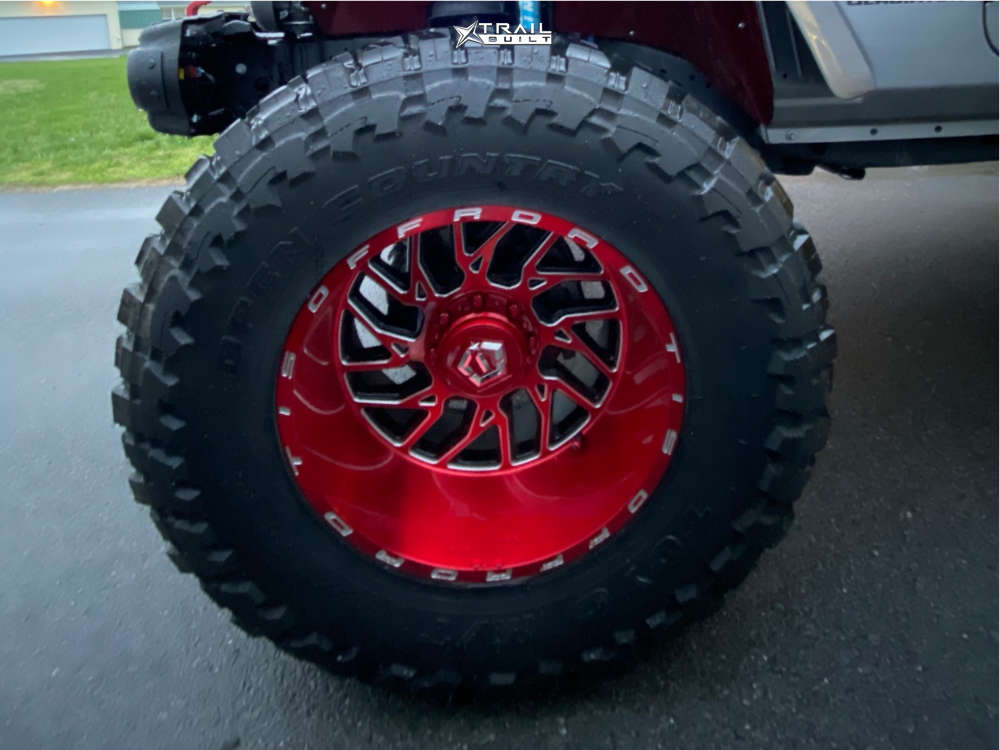 8 2020 Gladiator Jeep Launch Edition King Spring Super Low Suspension Lift 65in Tis 544rm Red
