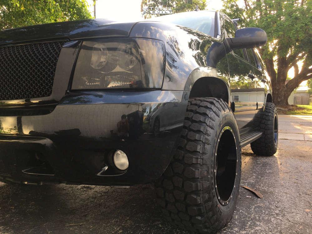 8 2010 Tahoe Chevrolet Torch Suspension Lift 3in Moto Metal Mo962 Black