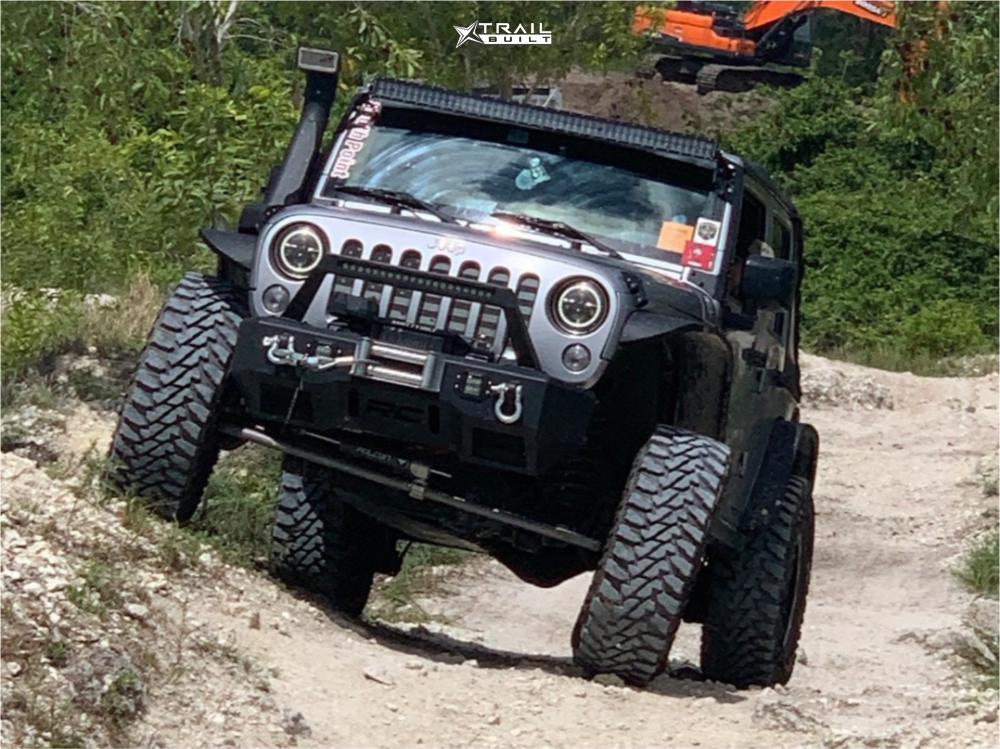 Lifted Jeep Wrangler