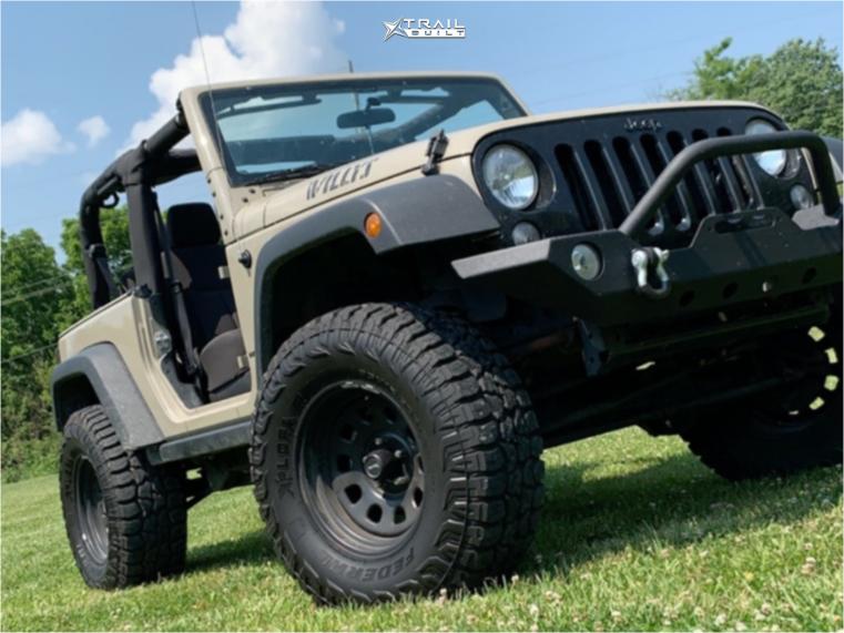 Lifted Jeep Wrangler JK