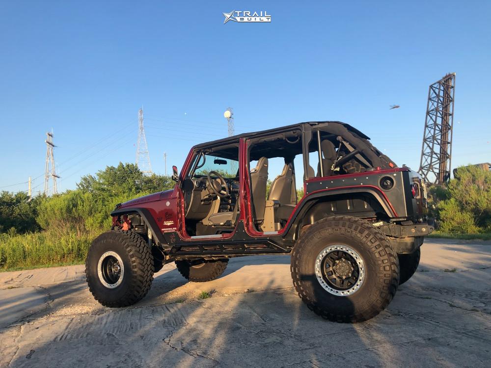 Built Rockcrawler Jeep Wrangler JK