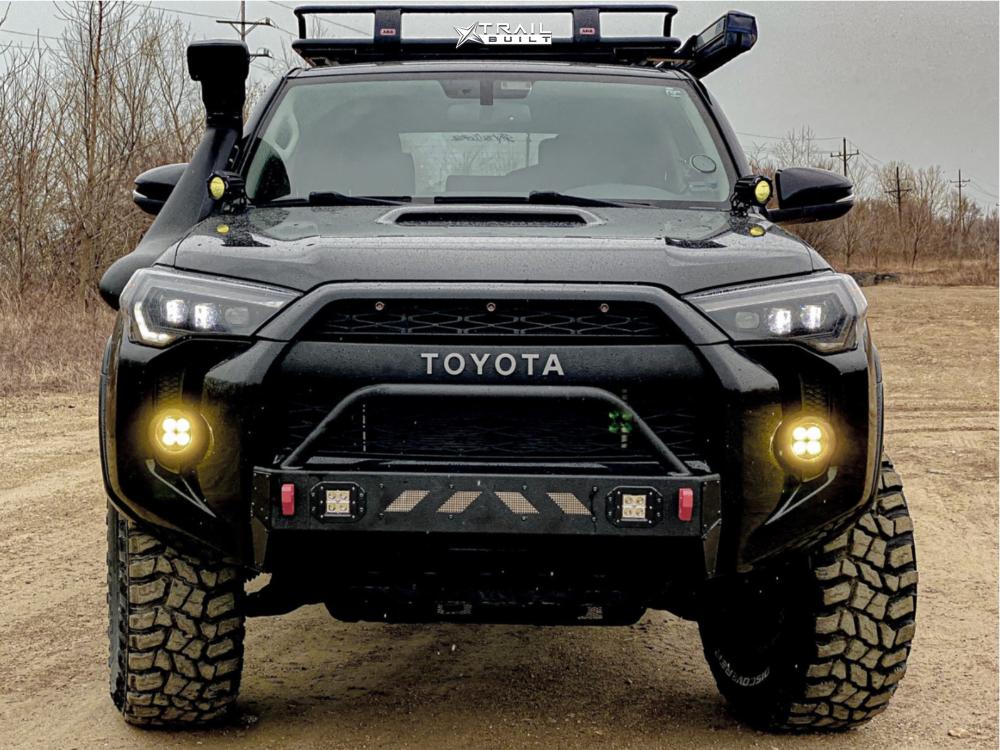 2 2017 4runner Toyota Icon Suspension Lift 3in Fuel Torque Bronze