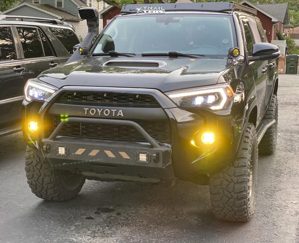 5 2017 4runner Toyota Icon Suspension Lift 3in Fuel Torque Bronze