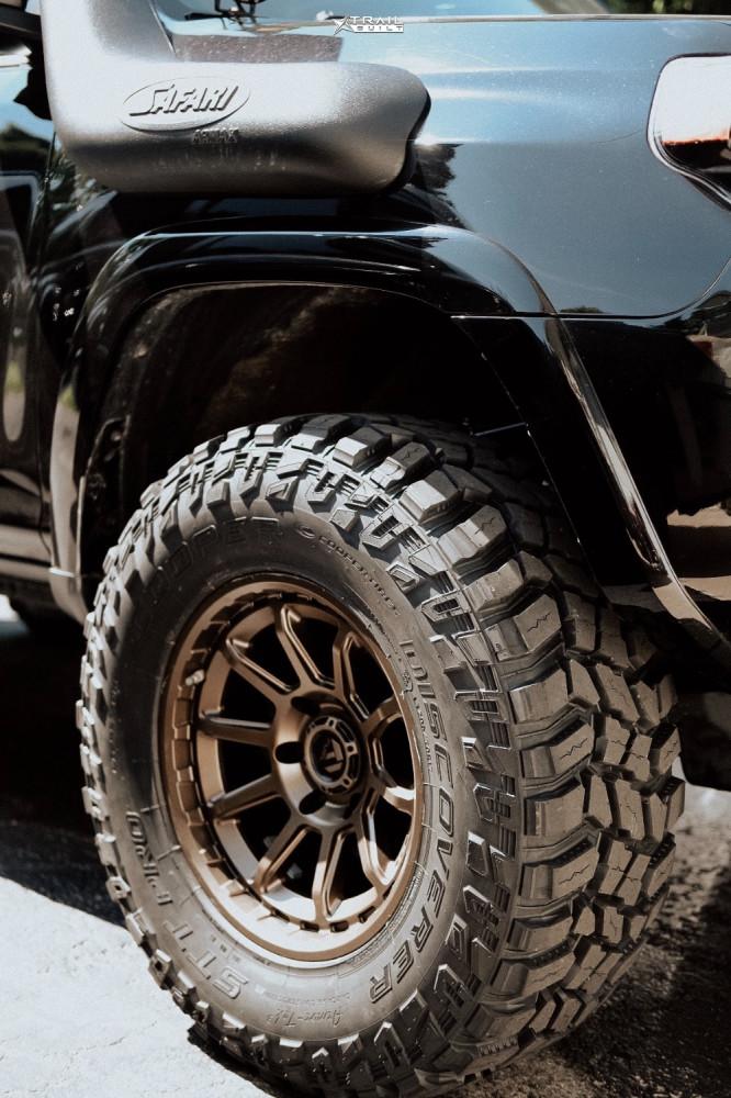 9 2017 4runner Toyota Icon Suspension Lift 3in Fuel Torque Bronze