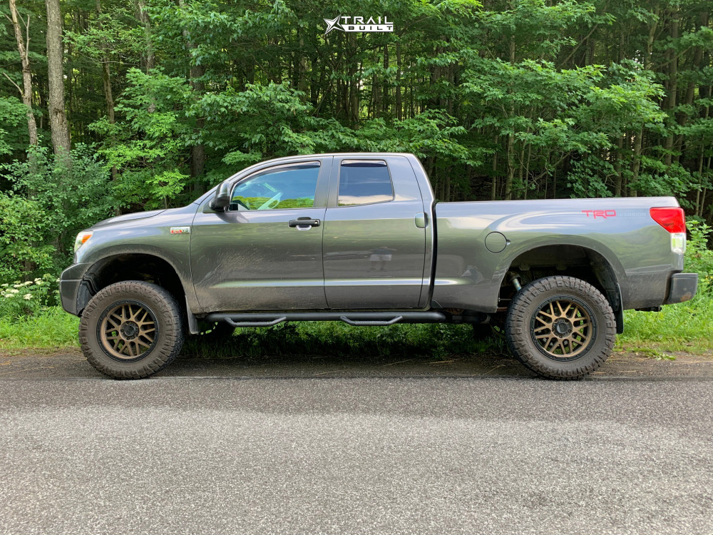 5 2011 Tundra Toyota Readylift Suspension Lift 6in Xd Grenade Bronze
