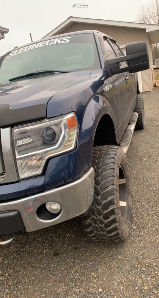 1 2014 F 150 Ford Rough Country Suspension Lift 6in Xd Spy Black