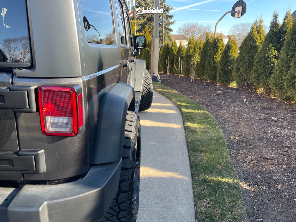 11 2017 Wrangler Jk Jeep Base Stock Wicked Offroad W906 Machined Accents