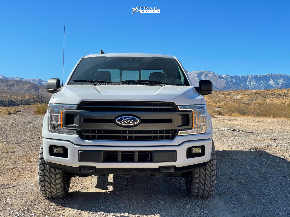 2 2019 F 150 Ford Motofab Leveling Kit Fuel Podium Gunmetal