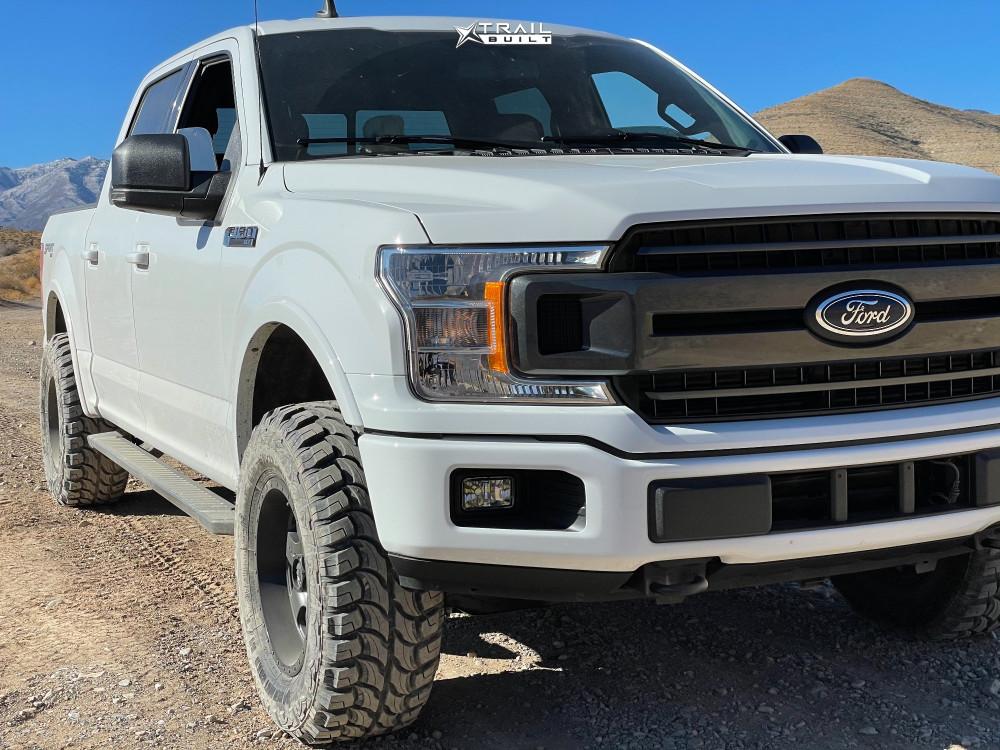 8 2019 F 150 Ford Motofab Leveling Kit Fuel Podium Gunmetal