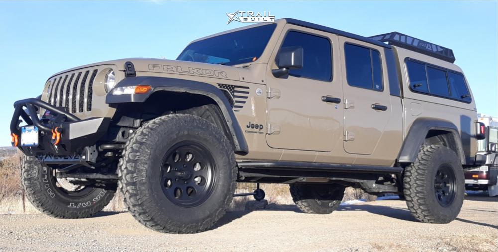 1 2020 Gladiator Jeep Sport Mopar Suspension Lift 25in Ion Alloy 171 Black