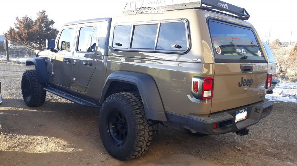 13 2020 Gladiator Jeep Sport Mopar Suspension Lift 25in Ion Alloy 171 Black