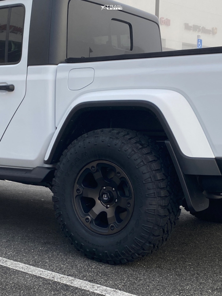 11 2021 Gladiator Jeep Sport Stock Stock Fuel Beast Black