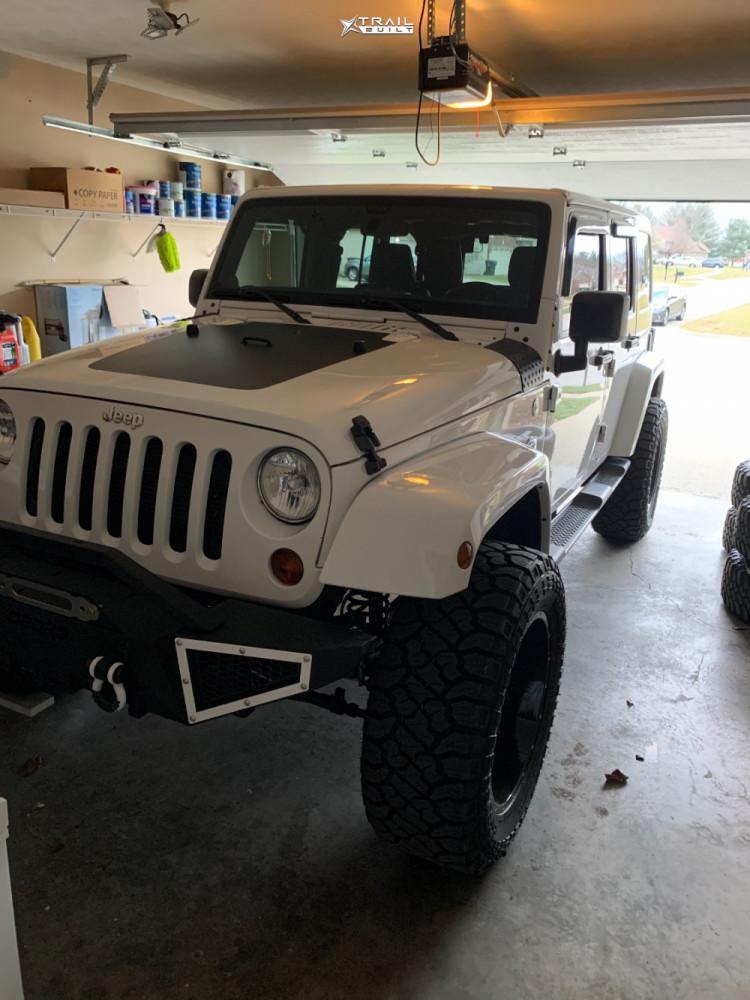 2 2012 Wrangler Jk Jeep Base 3 Inch Level Leveling Kit Vision Sliver Machined Black