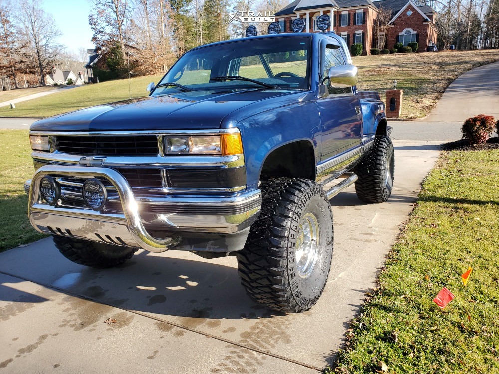 1 1998 K1500 Chevrolet Bds Suspension Lift 6in Alloy Ion 171 Polished