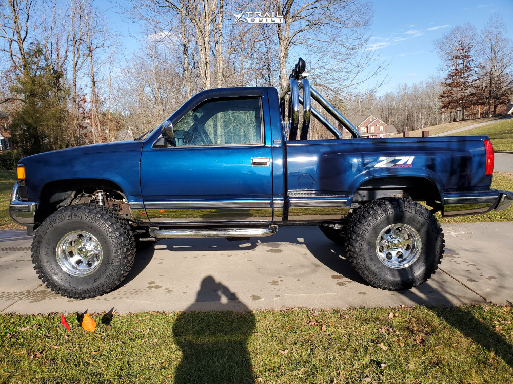 12 1998 K1500 Chevrolet Bds Suspension Lift 6in Alloy Ion 171 Polished