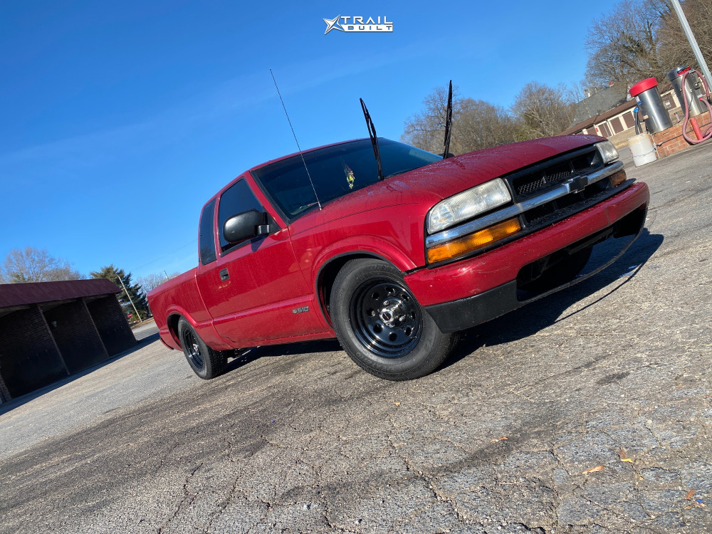 1 1999 S10 Chevrolet Lowered 3f 5r Vision Soft 8 Black
