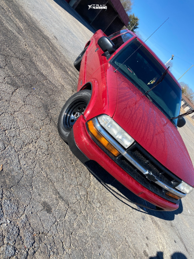 2 1999 S10 Chevrolet Lowered 3f 5r Vision Soft 8 Black