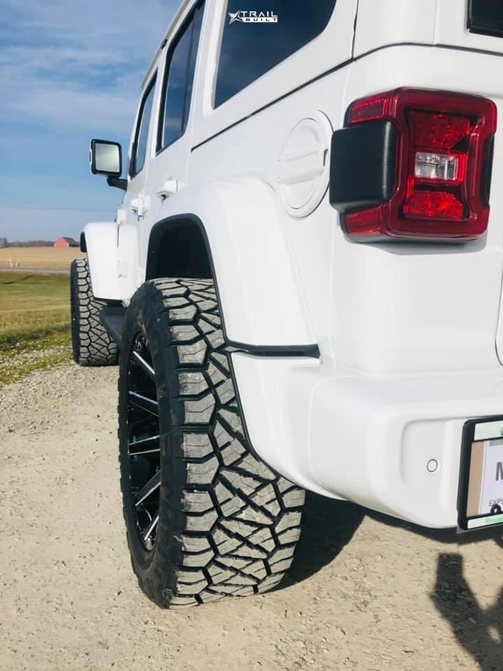 3 2021 Wrangler Jeep Unlimited Sahara Stock Air Suspension Fuel Contra Black