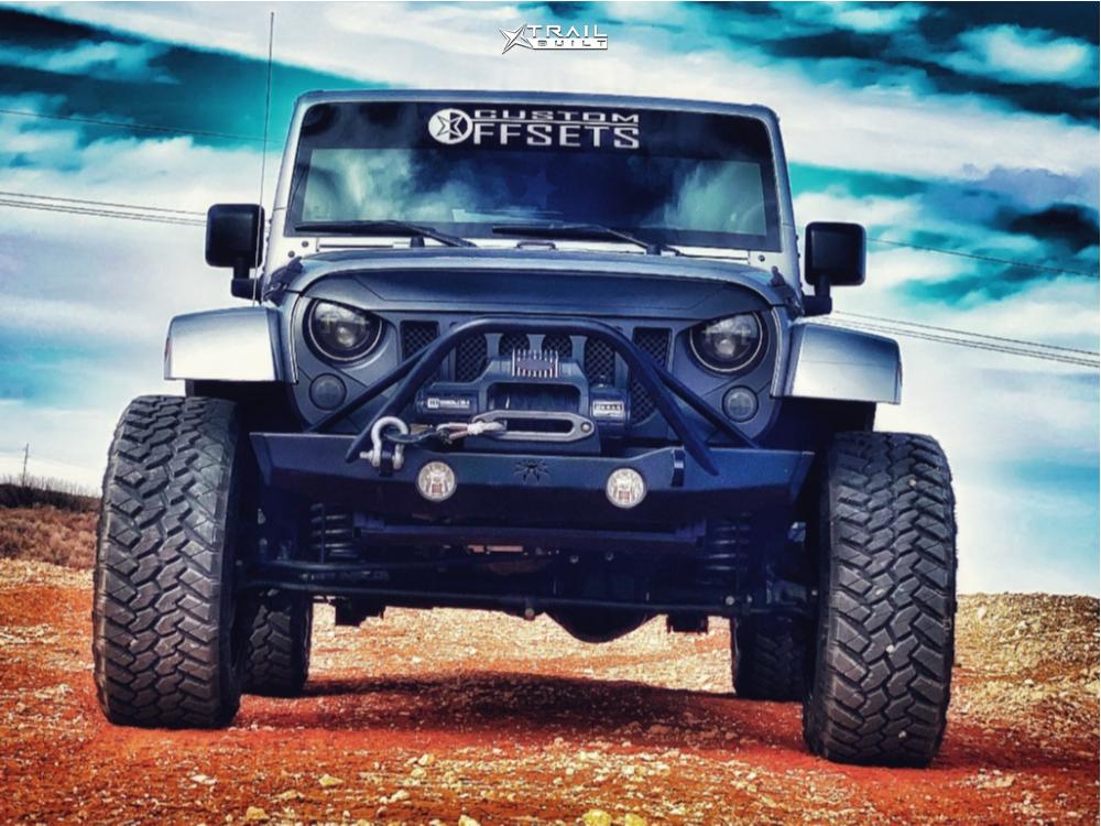 2 2016 Wrangler Jk Jeep Base Bilstein Suspension Lift 25in Moto Metal Mo962 Black