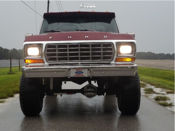 2 1978 F 250 Ford Custom Suspension Lift 6in Eagle Alloy Series 058 Polished