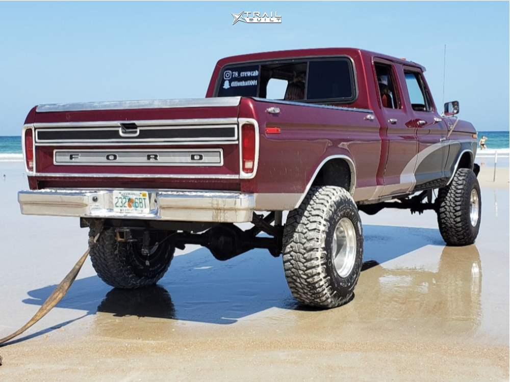 3 1978 F 250 Ford Custom Suspension Lift 6in Eagle Alloy Series 058 Polished